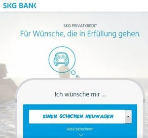SKG Bank Kredit